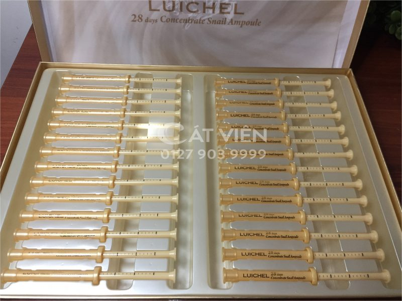 Luichel 28 days Concentrate Snail Ampoule3
