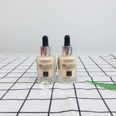 Kem nền kiềm dầu Catrice HD 24h Liquid Coverage Foundation